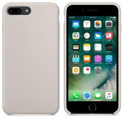 "Чехол Silicone case (AAA) для Apple iPhone 7 plus / 8 plus (5.5""), Серый / Pebble"