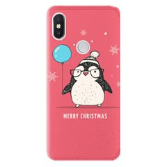 Чехол Christmas Penguin для Xiaomi Redmi S2, Пингвин