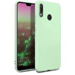 Чехол Silicone Cover Full Protective (AA) для Huawei P20 Lite, Мятный / Mint
