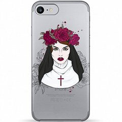 "Чехол Pump Transperency для Apple iPhone 7 / 8 / SE (2020) (4.7""), Flowers Religion"