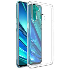 TPU чехол GETMAN Transparent 1,0 mm для Realme 5 Pro, Прозрачный / Transparent