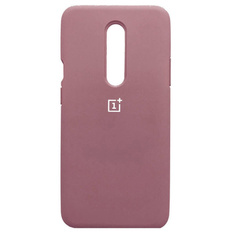 Чехол Silicone Cover Full Protective (AA) для OnePlus 7 Pro, Розовый / Pink Sand