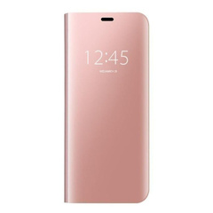 Чехол-книжка Clear View Standing Cover для Huawei Y7 Prime (2018) / Honor 7C pro, Розовый / Rose Gold