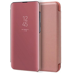 Чехол-книжка Clear View Standing Cover для Huawei Honor V30, Rose Gold