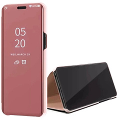 Чехол-книжка Clear View Standing Cover для Xiaomi Mi 10 Ultra, Rose Gold